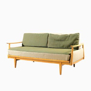 Sofá cama vintage de Walter Knoll / Wilhelm Knoll, años 50