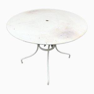 Mesa de jardín de chapa, años 50