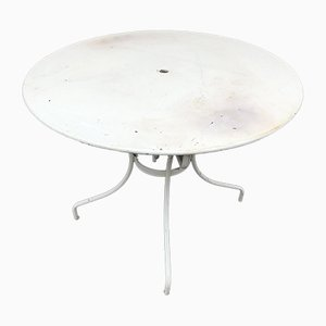 Sheet Metal Garden Table, 1950s