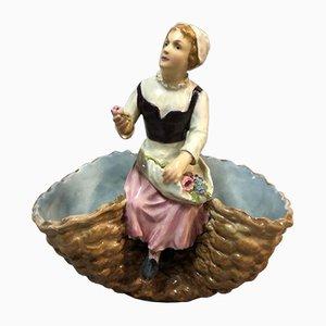 Sculpture Barbotine Antique par Édouard Gilles