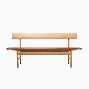 Shaker Bench by Børge Mogensen for Fredericia, Denmark, 1960s