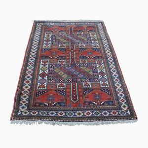 Russian Kazak Wool Carpet, 1900s