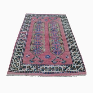 Russian Kazak Wool Carpet, 1900s