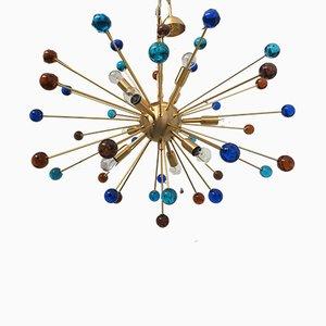 Lustre Sputnik en Verre Murano par Italian Light Design