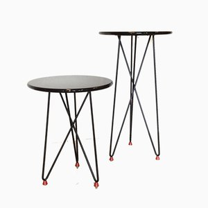 Vintage Side Tables from Cidue, Set of 2