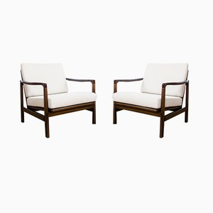 Model B7522 Armchairs by Zenon Bączyk, 1960s, Set of 2