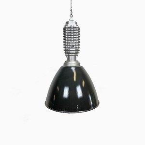 Große industrielle Vintage Deckenlampe, 1970er