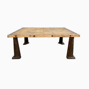 Tavolino da caffè industriale, anni '50