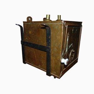 Antique Brass Cabinet
