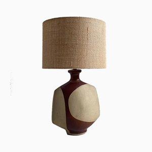 Lampada da tavolo Mid-Century in ceramica di Peter Ellery per Tremaen, anni '60