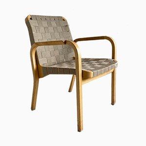 Butaca modelo 45 de madera curvada de Alvar Aalto para Artek, años 90