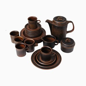Mid-Century Ruska Coffee Set by Ulla Procope for Arabia, 1960s