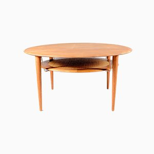 Mid-Century Teak Model 515 Coffee Table by Orla Mølgaard-Nielsen for France & Søn / France & Daverkosen, 1960s