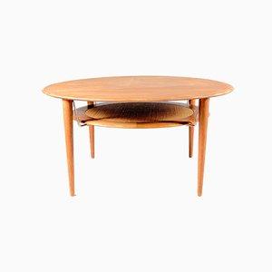 Table Basse Modèle 515 Mid-Century en Teck par Orla Mølgaard-Nielsen pour France & Søn / France & Daverkosen, 1960s