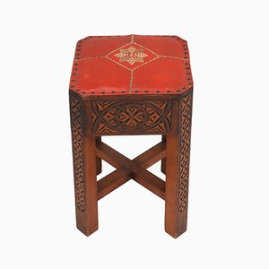 Art Deco Moorish Tabouret Stool, 1930s