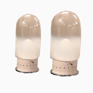 Lampade da tavolo in vetro di Murano, anni '70, set di 2