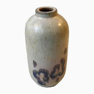 Vase en Grès Haresfur par Ellen Madsen pour Lee Keramik, Danemark, 1970s