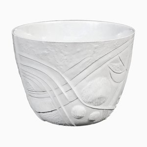 Mid-Century Modern Ceramic Flower Pot by Bertil Vallien for Rörstrand, 1970s