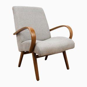 Vintage Model 53 Lounge Chairs by Jaroslav Smidek for TON, 1950s, Set of 2