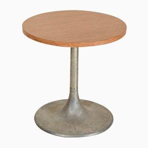 Table Basse en Formica Marron et Métal, Italie, 1960s
