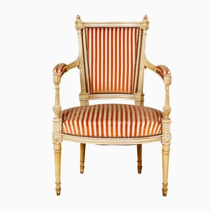 Antique Gustavian Armchairs, Set of 2