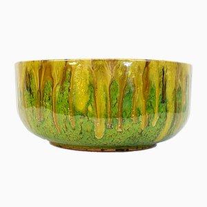 Italian Glazed Ceramic Bowl, 1960s
