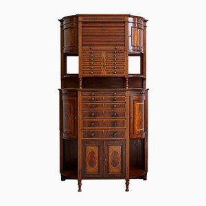 Antique English Dental Cabinet from The Dental Manufacturing Co. Ltd., 1910s