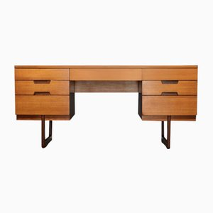 Mid-Century Teak Desk by Gunther Hoffstead for Uniflex, 1960s
