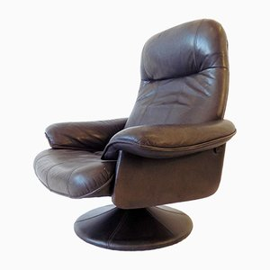 Danish Lather Lounge Chair from Thams, 1970s