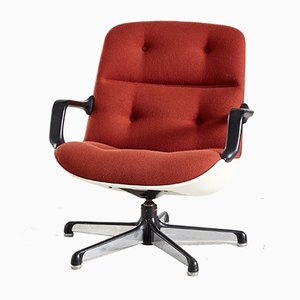 Italian Swivel Chair by Charles Pollock for Comforto, 1960s