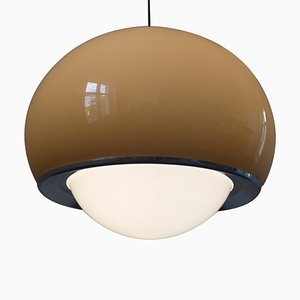 Large Meblo Pendant Lamp by Harvey Guzzini, Italy, 1970s