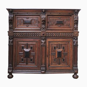 Antique Flemish Cabinet