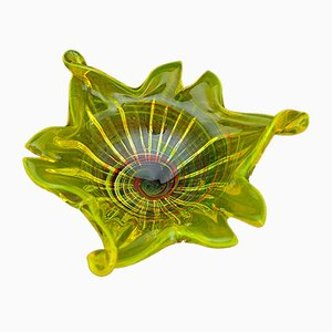 Mid-Century Murano Schale von Made Murano Glas, 1950er