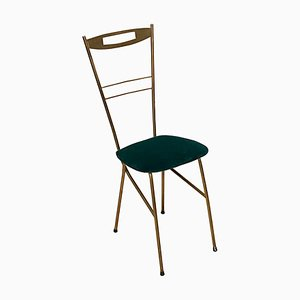 Mid-Century Brass Dining Chair, 1950s