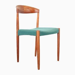 Teak Esszimmerstühle von Knud Andersen für JCA Jensen, 1960er, 4er Set