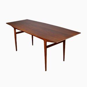 Tavolo da pranzo Mid-Century in afrormosia di John Herbert per A. Younger Ltd., anni '60