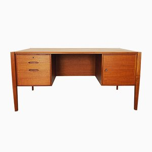 Teak Executive Desk by Wilhelm Renz, 1960s