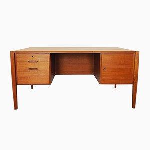 Teak Schreibtisch von Wilhelm Renz, 1960er