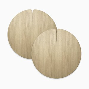Table Mats Nelumbo by Andrea Gregoris for Lignis®, Set of 2