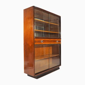 Walnut Display Cabinet, 1960s