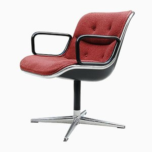 Mid-Century Executive Chair by Charles Pollock, 1970s