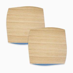 Medium Table Mats Portofino by Andrea Gregoris for Lignis®, Set of 2