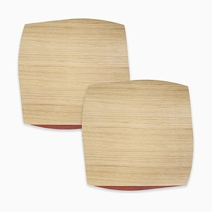 Medium Table Mats Portofino by Andrea Gregoris for Lignis®, Set of 2