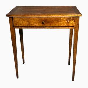 Lozenge Marquetry Walnut Desk, 1940s