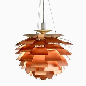 Lámpara colgante Artichoke Mid-Century de cobre de Poul Henningsen para Louis Poulsen