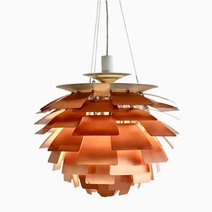 Mid-Century Copper Artichoke Pendant Lamp by Poul Henningsen for Louis Poulsen