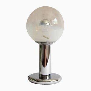 Lámpara de mesa Bolla italiana era espacial, años 60