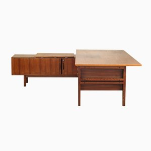 Rosewood Desk Set by Arne Vodder for Sibast