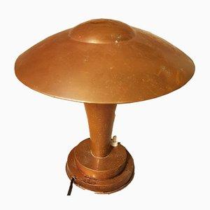 Art Deco Mushroom Tischlampe, 1940er