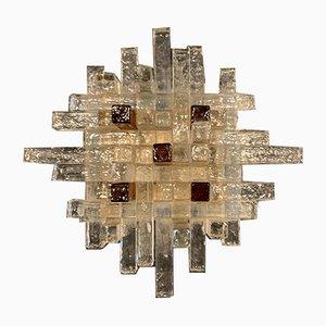 Lampada da soffitto vintage di Albano Poli per Poliarte, anni '60